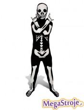 Kostium dziecięcy Szkielet Second Skin
