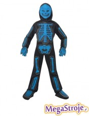 Kostium dziecięcy Szkieletor niebieski