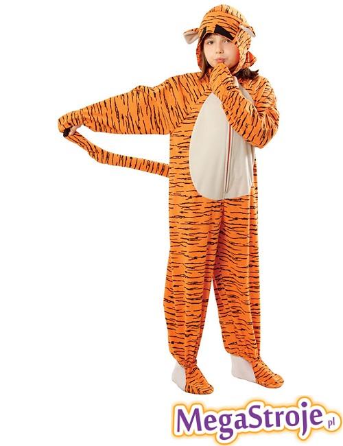 Kostium dziecięcy Tygryska pomarańczowy