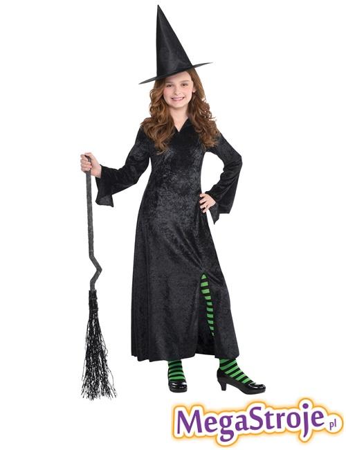 Kostium dziecięcy Wiedźma czarna