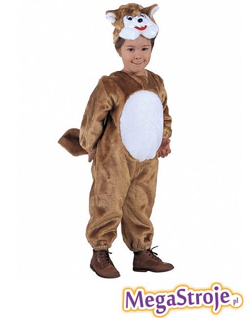 Kostium dziecięcy pluszowy Wiewiórki