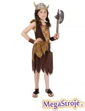 Kostium dziecięcy Wiking - dziewczynka