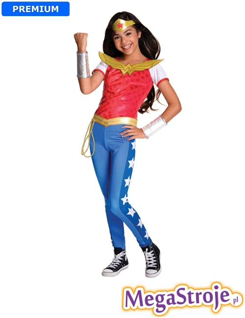 Kostium dziecięcy Wonder Woman deluxe