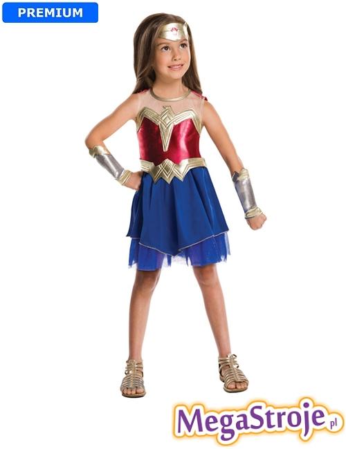 Kostium dziecięcy Wonder Woman lux