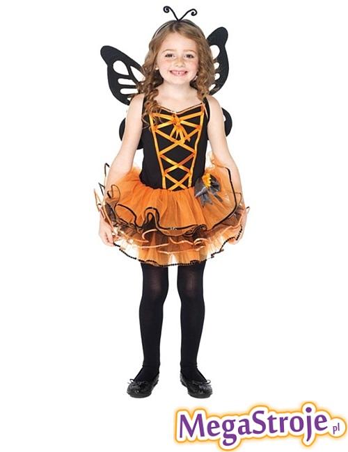 Kostium dziecięcy Wróżka pomarańczowa