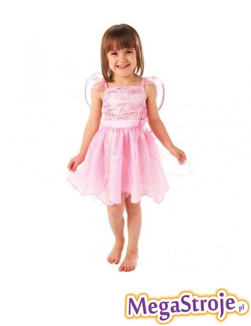 Kostium dziecięcy Wróżka różowa