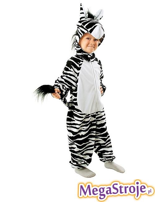 Kostium dziecięcy Zebry
