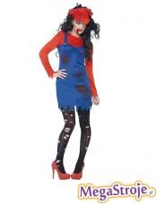 Kostium Dziewczyna Mario zombie