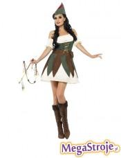 Kostium Dziewczyna Robin Hooda 2