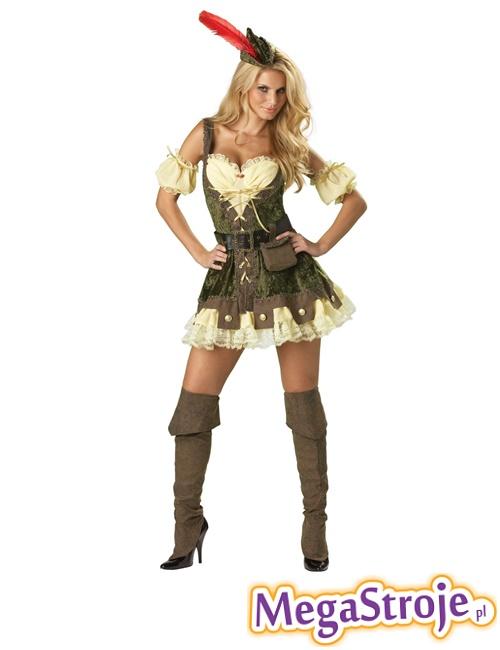 Kostium Dziewczyna Robin Hooda