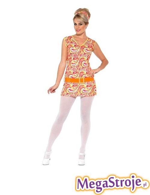 Kostium Dziewczyna z lat 60.