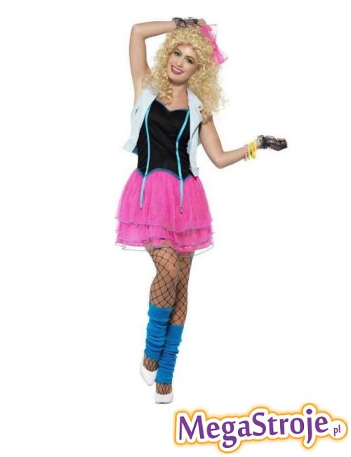 Kostium Dziewczyna z lat 80'