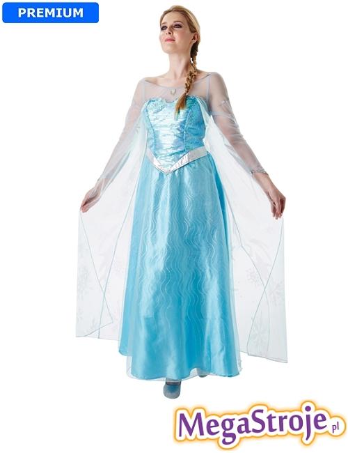 Kostium Elsa lux - Kraina Lodu
