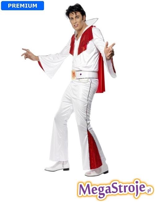 Kostium Elvis biały 2