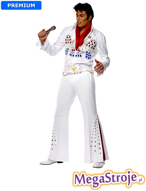Kostium Elvis biały 3