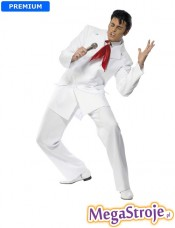 Kostium Elvis biały deluxe