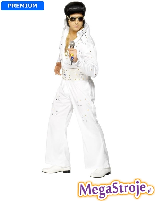 Kostium Elvis biały