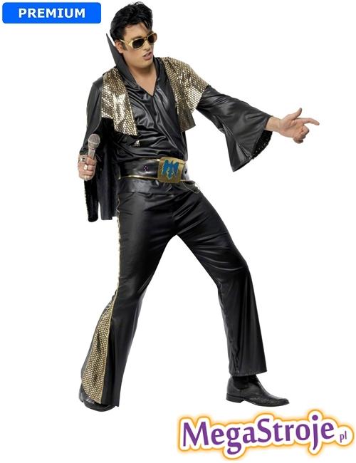 Kostium Elvis czarny