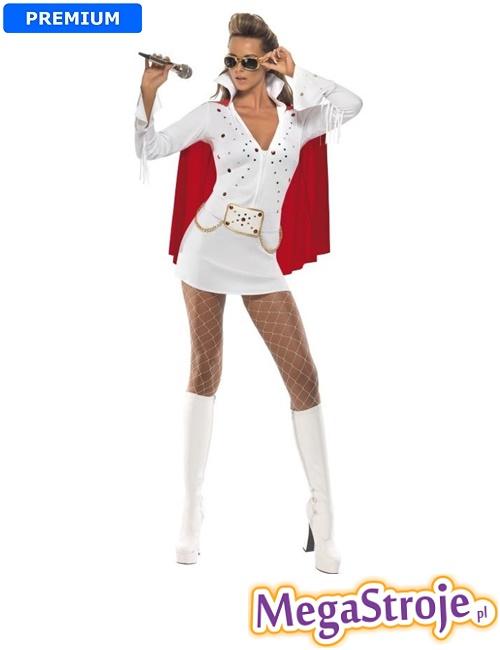 Kostium Elvis Viva Las Vegas biały
