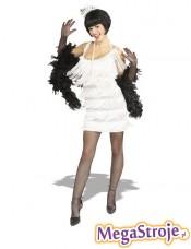 Kostium Flapper biały