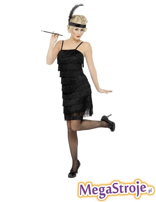 Kostium Flapper czarny 2
