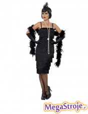 Kostium Flapperka czarny