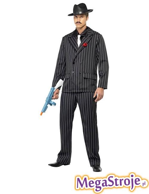 Kostium Gangster czarny