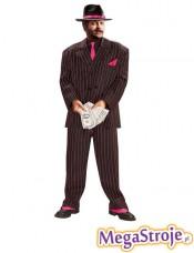 Kostium Gangster różowy