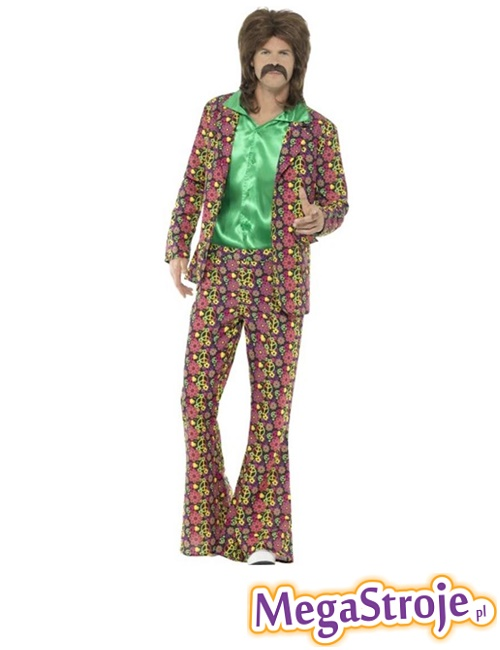 Kostium Garnitur Hippie