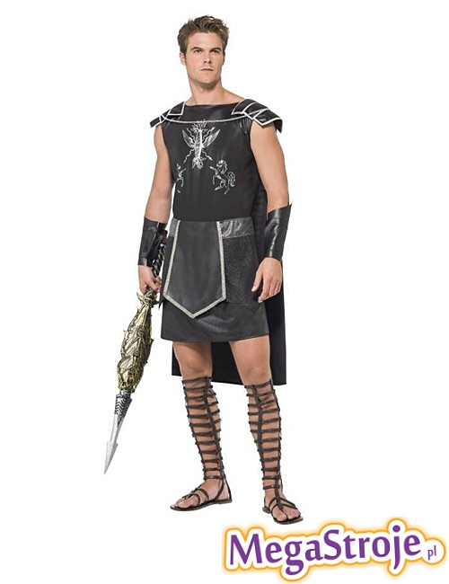Kostium Gladiator czarny