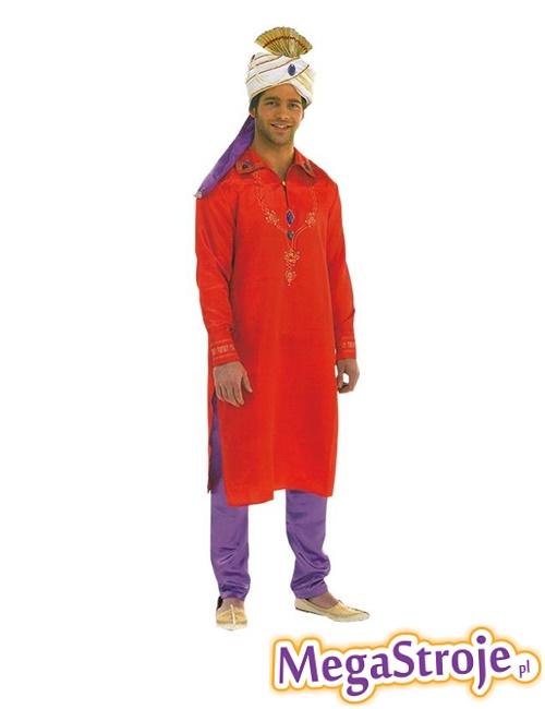 Kostium Gwiazdor Bollywood czerwony
