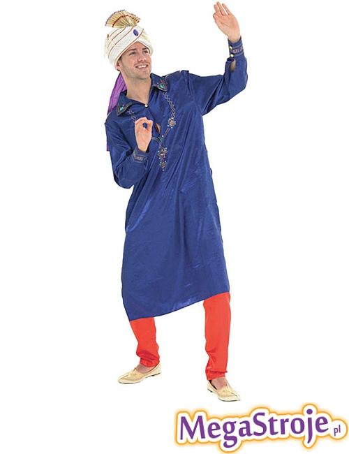 Kostium Gwiazdor Bollywood niebieski