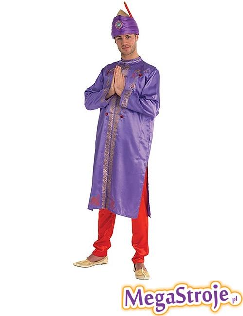 Kostium Gwiazdor Bollywood fioletowy