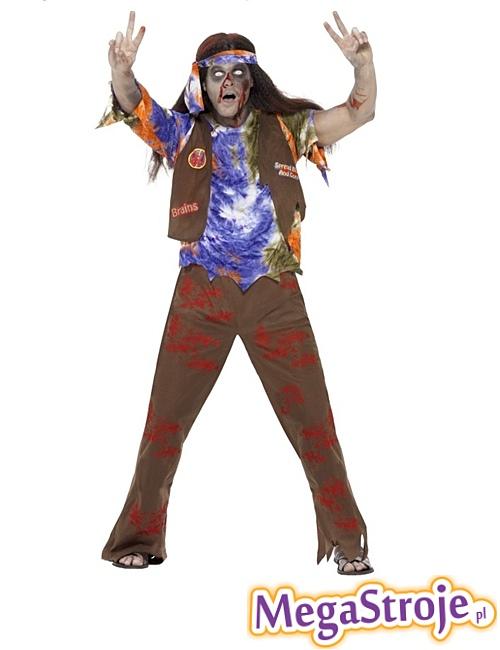 Kostium Hipis zombie