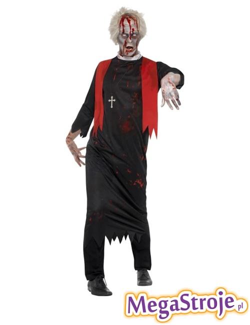 Kostium Kapłan zombie