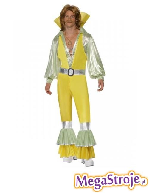 Kostium Król Disco żółty