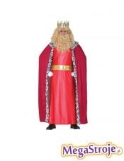 Kostium Króla czerwony
