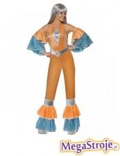 Kostium Królowa Parkietu pomarańczowa