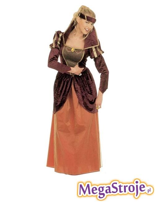 Kostium Królowa z średniowiecza