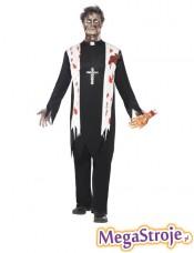 Kostium Ksiądz zombie
