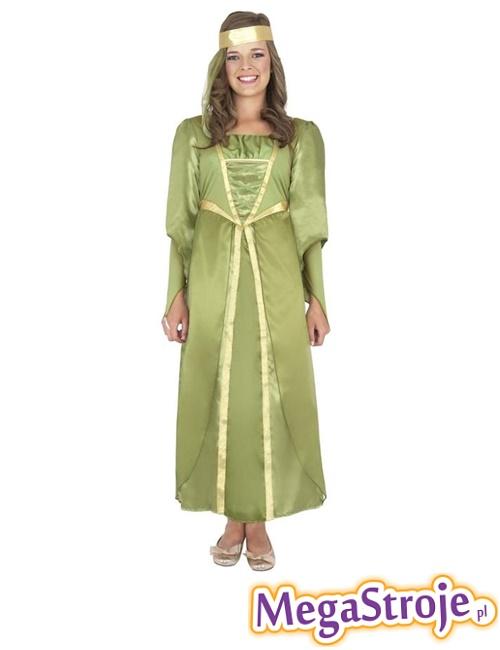 Kostium Lady Marion zielona