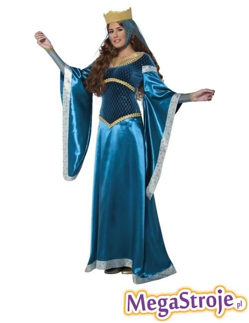 Kostium Lady Marion niebieska