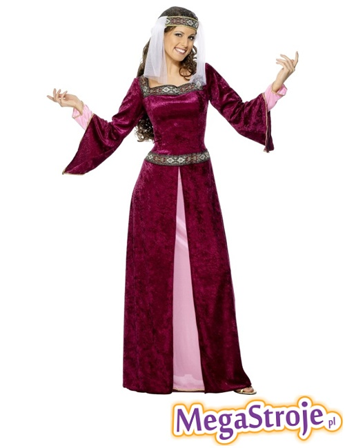 Kostium Lady Marion bordo