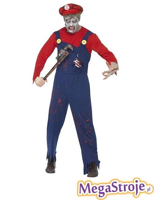 Kostium Mario zombie