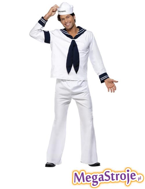 Kostium Marynarz biały