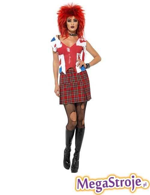 Kostium Miss Punk