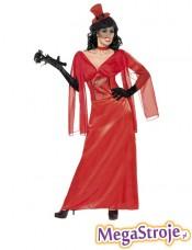Kostium Narzeczona DracuIi czerwony