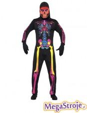 Kostium Neonowy Szkieletor