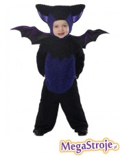 Kostium dziecięcy pluszowy Nietoperz