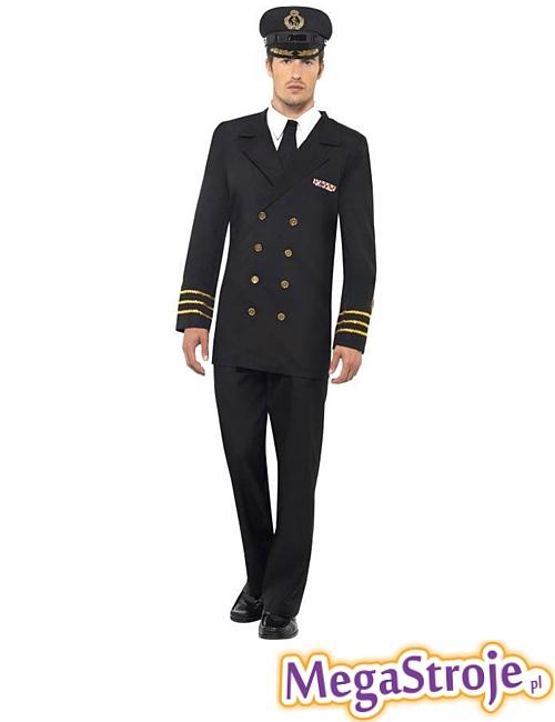 Kostium Oficera Marynarki czarny